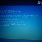 WindowsXPチェックディスク