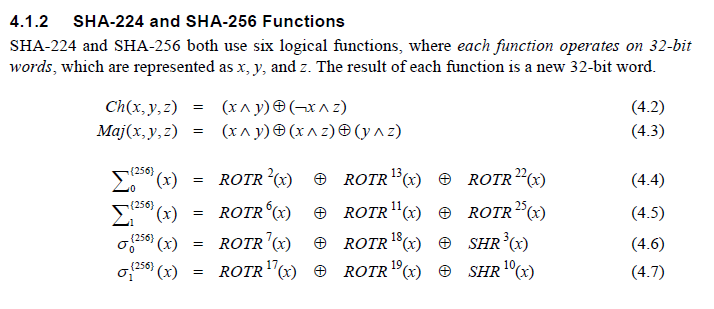 SHA-256_functions